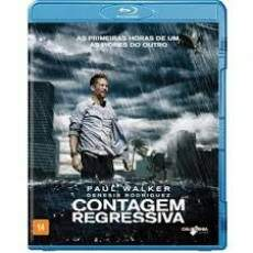 Contagem Regressiva Blu-ray   SEMI-NOVO