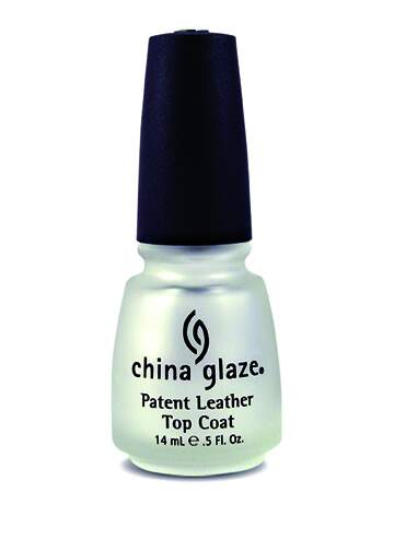 China Glaze Patent Leather Top Coat 14ml