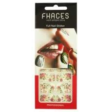 Adesivo Fhaces Full Nail BSW-126 - Floral