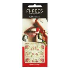Adesivo Fhaces French Nail - SFN-035 - Floral
