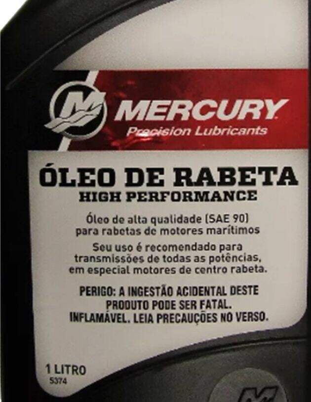 Óleo Mercury Rabeta High Performance - 1L.