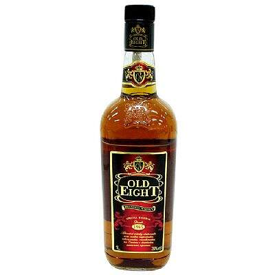 Whisky Nacional Old Eight 1000ml.