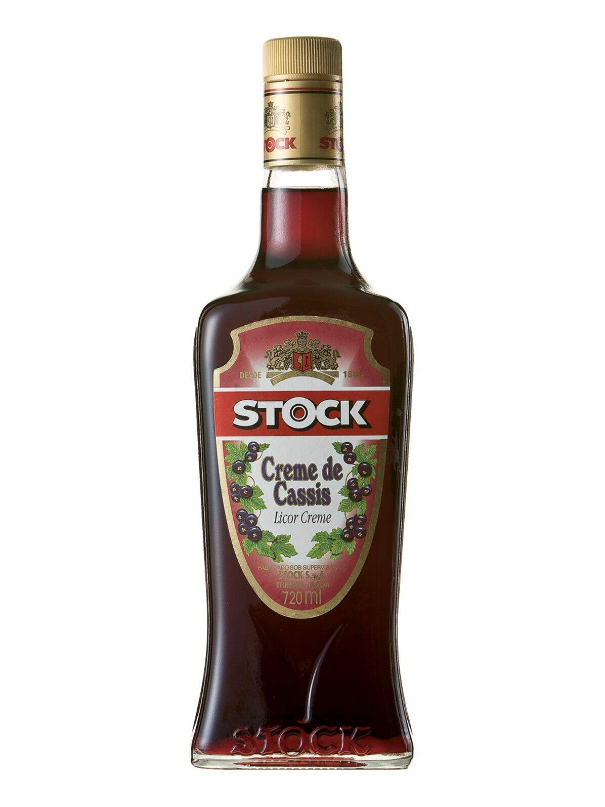 Licor Stock Creme de Cassis 720ml.
