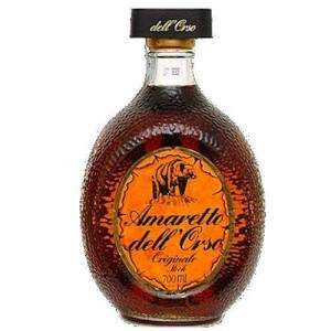 Licor Amaretto Dell´orso 700ml.