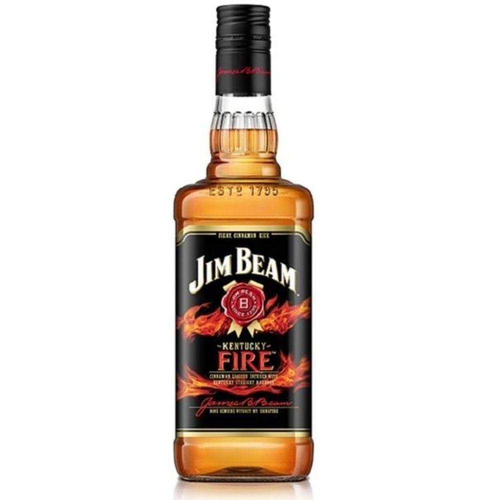 Whisky Jim Beam Fire 1000ml