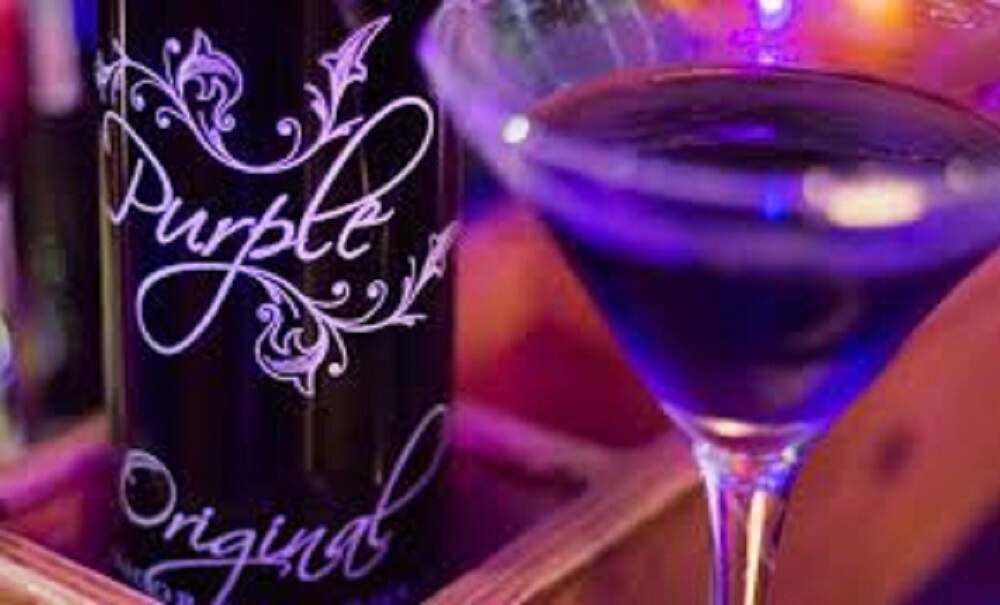 PURPLE  LICOR VODKA 700ml