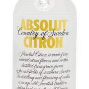 Vodka Absolut Citron 750ml