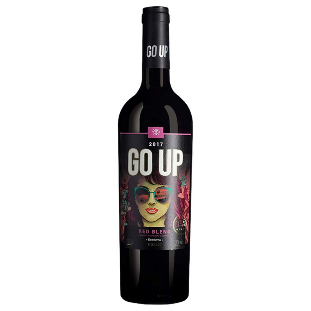 Vinho Chileno GO UP Red Blend 2017 750ml