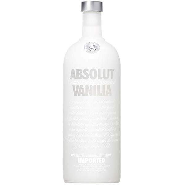 Vodka Absolut Vanilla 1000ml.