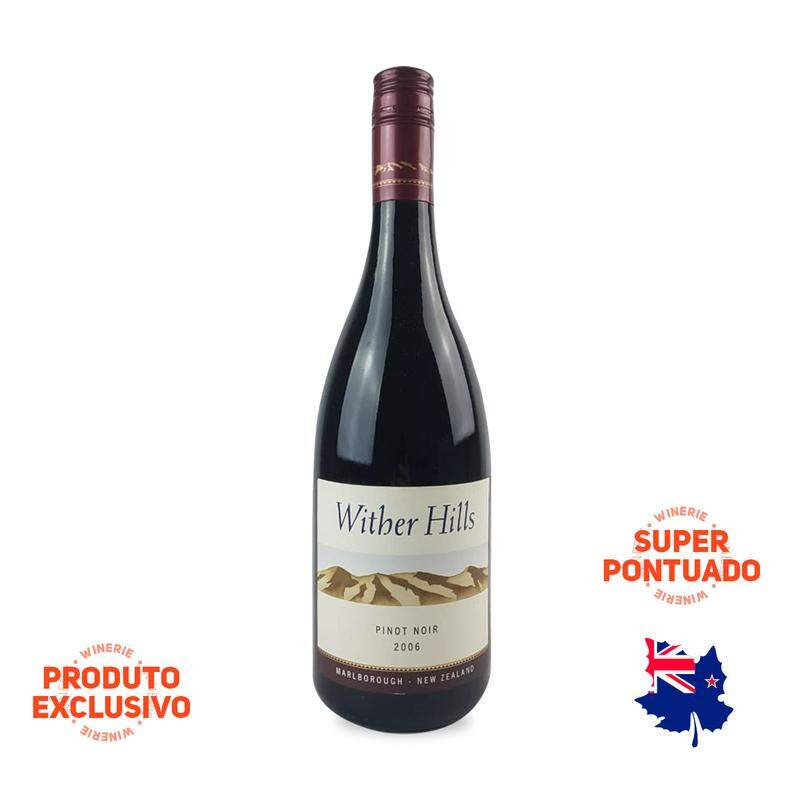 VINHO AUSTRALIANO WITHER HILLS PINOT NOIR 2006(750ML)