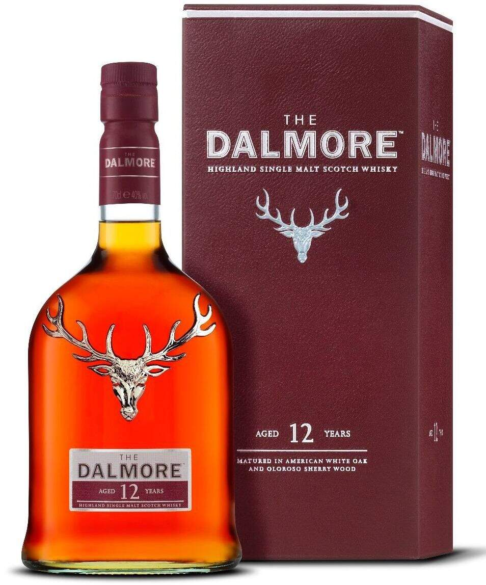 Whisky Dalmore Single Malt 12 Anos 700ml.