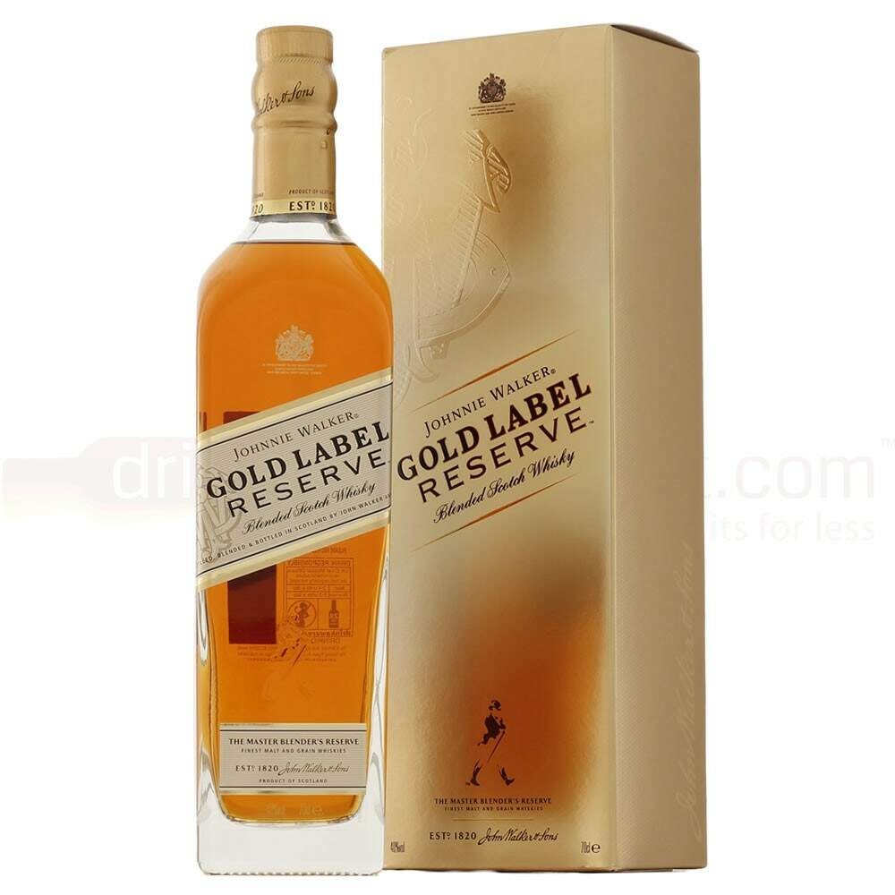 Whisky Escocês Johnnie Walker Gold Label Reserve 750ml.