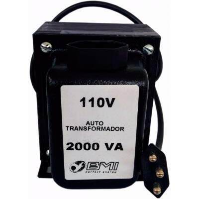 Auto Transformador BMI AT2000T21 2000va 220v P/ 110v