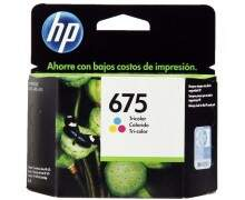 Cartucho HP 675 Original tricolor CN691AL - 9ml