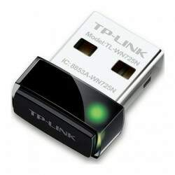 Mini Adaptador TP-Link Nano Wireless N USB 150 Mbps TL-WN725N