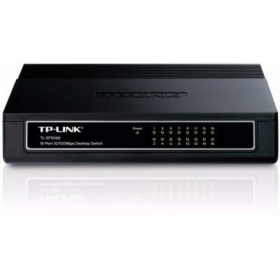 Switch TP-Link 16 Portas 10/100Mbps TL-SF1016D