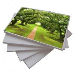 Papel Fotográfico Glossy A4 Dupla Face 260 g/m² - 20 Folhas