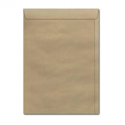 Envelope Natural - 240x340mm 100 UN - Celucat KN34