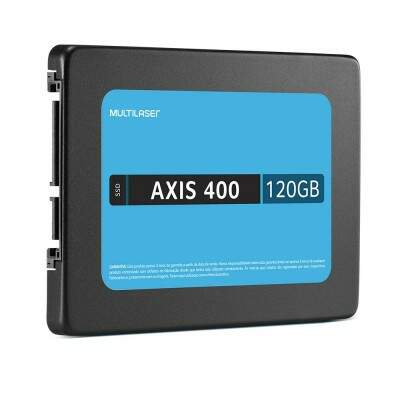 SSD 120GB Axis 400 - 400 Mb/S - Multilaser SS101
