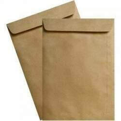 Envelope Natural - 240x340mm 250 UN - Celucat KN 080