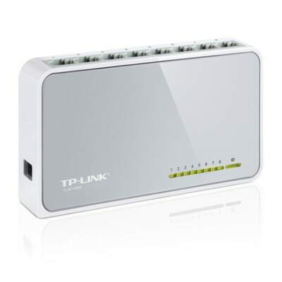 Switch 8 Portas TP-Link 10/100 Mbps TL-SF1008D