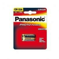 Bateria Panasonic Photo Power CR123A 3V Lithium