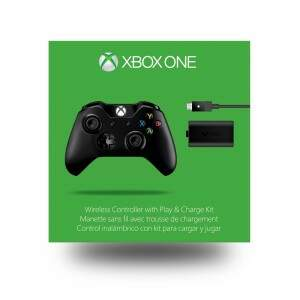 Controle Xbox One + Play and Charge Kit