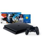 Console PS4 500GB Hits Bundle 2 + 4 Jogos + Controle Wireless DualShock 4 - Sony