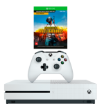 Console Xbox One S 1TB + Battlegrounds + Game Pass + Live Gold