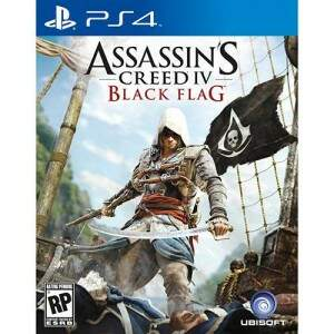 Game - Assassin\'s Creed IV: Black Flag (Versão em Português) - PS4