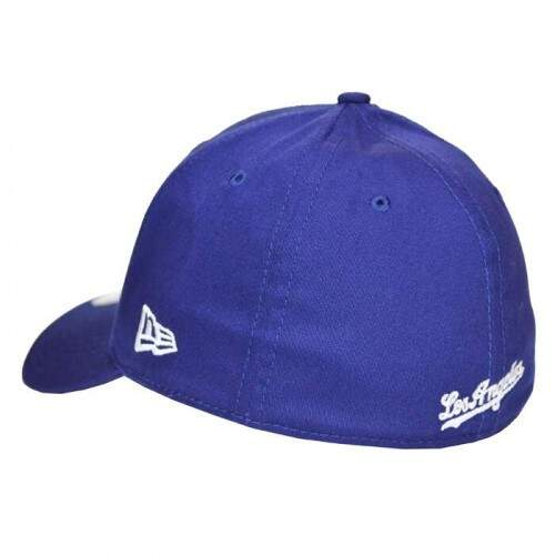Boné New Era 39THIRTY Los Angeles Dodgers - One Size Fits Most - High Crown - Royal