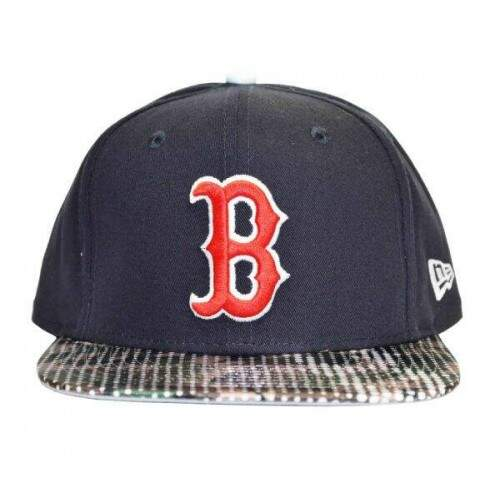 Bone New Era Boston Red Sox Original Fit MLB - Snapback