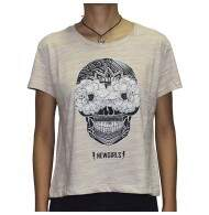 Camiseta New Top Skullandroses