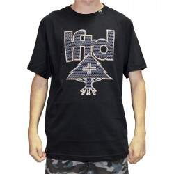 Camiseta LRG Hunter Mark Tee - Preto
