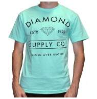 Camiseta Diamond Supply Co Mined - Diamond Blue