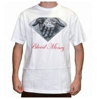 Camiseta Diamond Supply Co Blood Money Tee - White