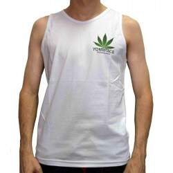 Camiseta Regata Your Face Cannabis