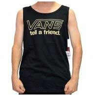 Camiseta Regata Vans Tell A Friend