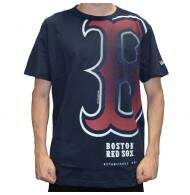Camiseta New Era Reticula Boston Red Sox - Navy
