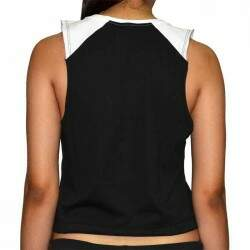 Camiseta Regata Qix Cropped Missy