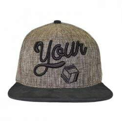Boné Your Face Mesh Marron - Snapback