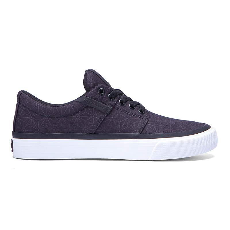 Tênis Supra Stacks Vulc II Black/Print/White