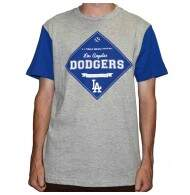 Camiseta New Era Los Angeles Dodgers - Grey