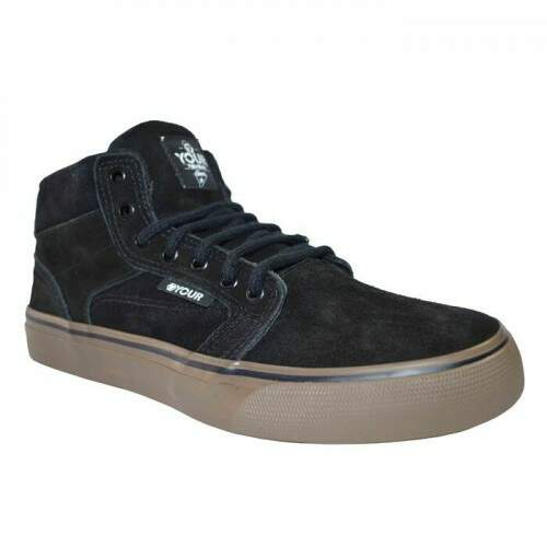 Tenis Your Face Mid Carrier - Preto/Caramelo