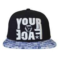 Boné Your Face Skateboard Preto - Snapback