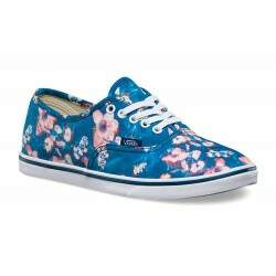 Tênis Vans Authentic Lo Pro Blurred Floral Poseidon