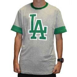 Camiseta New Era Patricks Day 7 Los Angeles Dodgers - Royal
