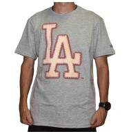Camiseta New Era Baseball 19 Los Angels Dodgers - Grey