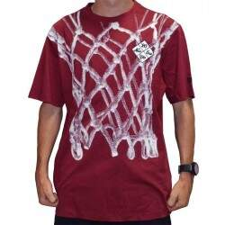 Camiseta New Era Cesta - Burgundy