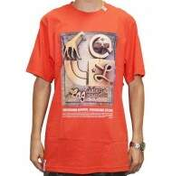 Camiseta LRG Core Collection Seven Tee - Coral